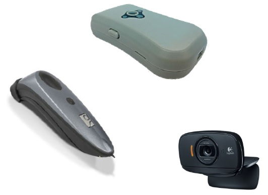 Bar code Scanners & webcam